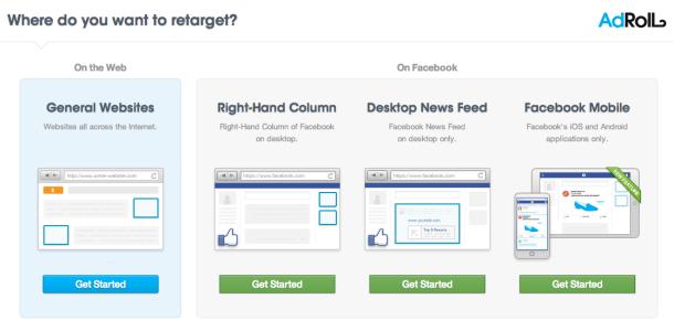 AdRoll fait du retargeting mobile sur Facebook Exchange