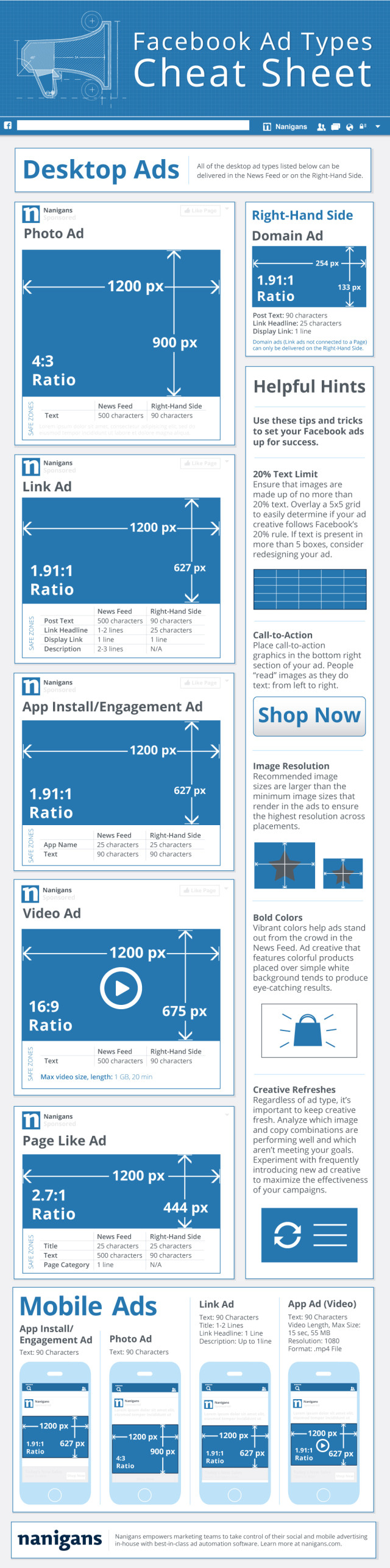 Nanigans-Facebook-Ad-Types-Infographic