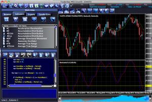 trader screen shot bourse