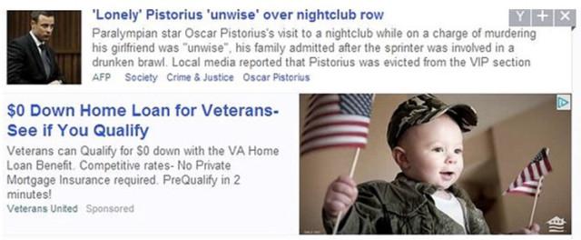 Les dégâts de la publicité native non maitrisée chez Yahoo !