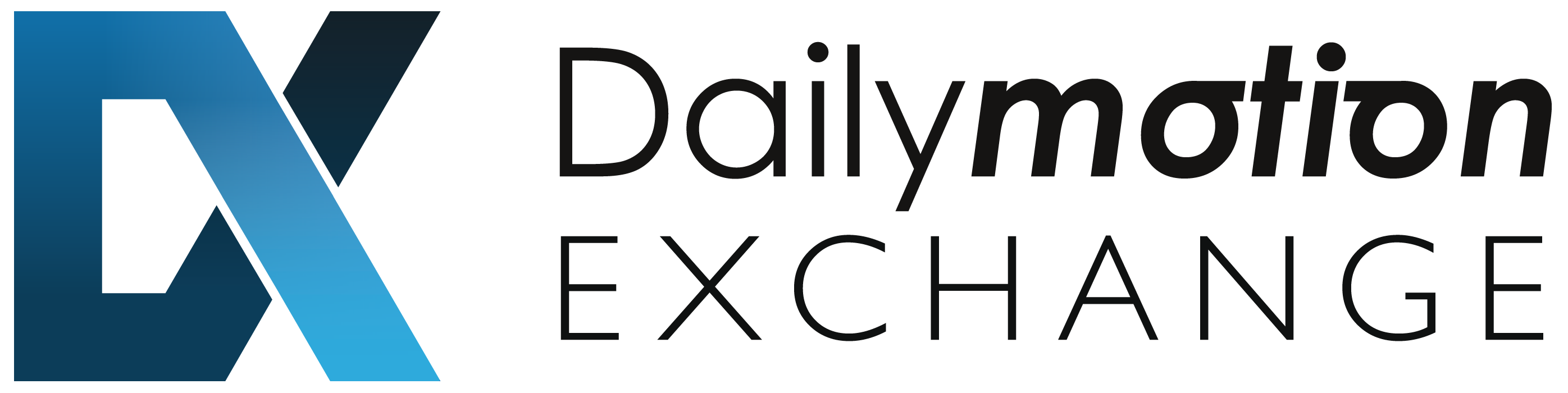 Dailymotion-Exchange-Horizontal white