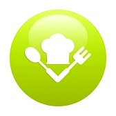 21448068-bouton-internet-cuisine-icon-green