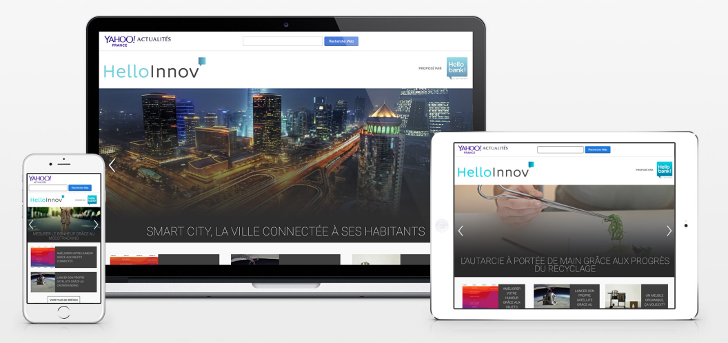 Publicité native : Hello bank lance une campagne sur Tumblr et Yahoo
