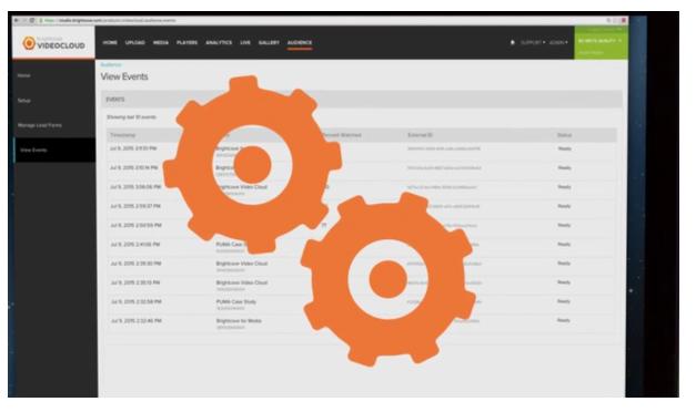 Brightcove propose de l'analytique intégré aux vidéos