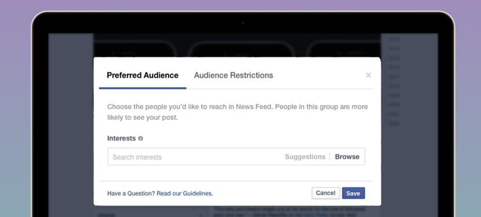 Preferred audience_FB