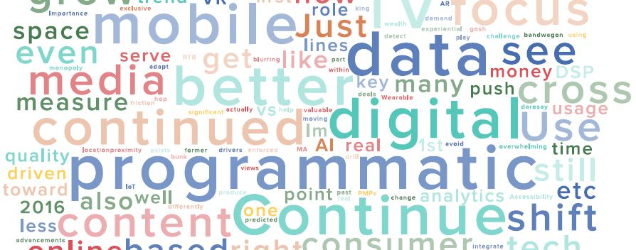 Les principales tendances du marketing digital (et programmatique) en 2016