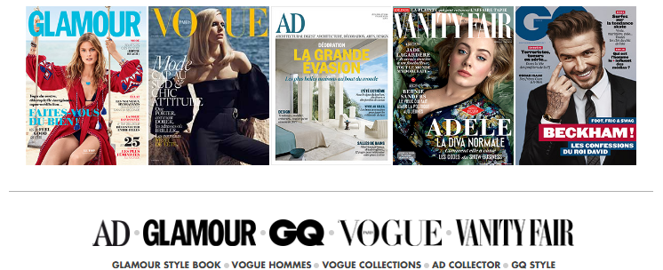 Condé Nast France_kiosque