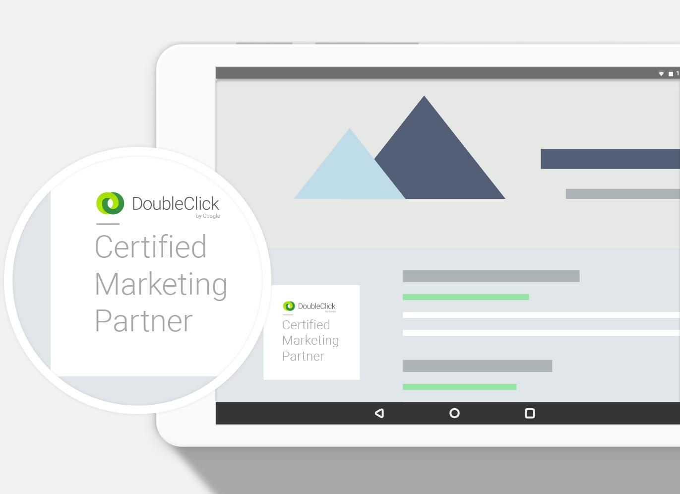 DoubleClick partner badge