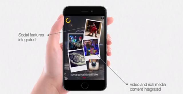 Un nouveau format est proposé en France pour  le story telling sur le mobile