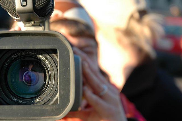 Caméra vidéo.