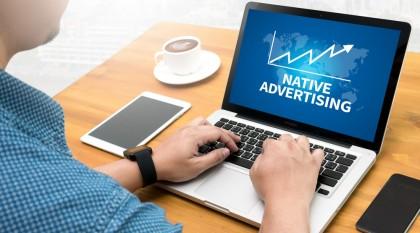Publicité native.