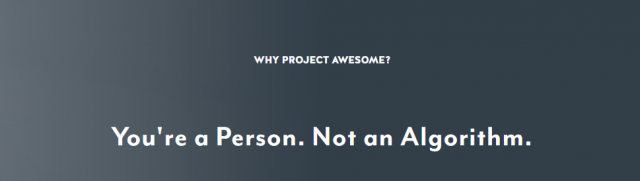 Project Awesome, Rubicon Project.