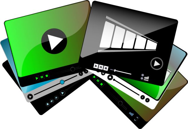 Multi-écrans vidéo.