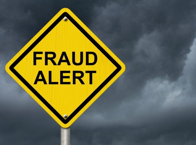 Alerte fraude.