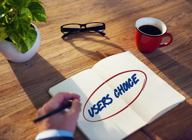 Users choice, expérience utilisateur.