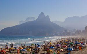 Rio de Janeiro, morro Dois Irmaos