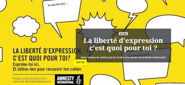 Amnesty jeunes.