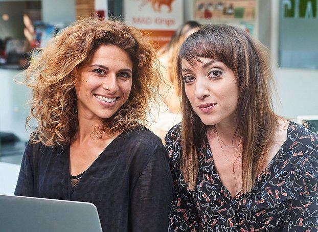 (De g. à d.) Cathy Pill et Sarah Levin Weinberg, agence Stellar.